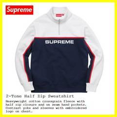 Supreme 2-Tone Half Zip シュプリーム トレーナーシャツ0123450