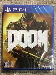 ドゥーム 新品未開封 PS4 DOOM