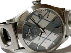 極美品 1スタ★ヴィヴィアン・ウエストウッド 大型メンズ腕時計