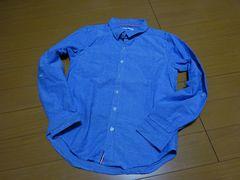 カジュアル長袖シャツ:Mサイズ