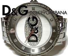 超大型 1スタ★ドルチェ&ガッバーナ/D&G【極レア】腕時計