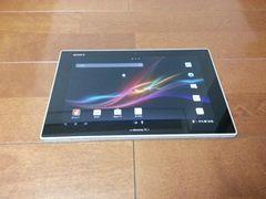 即落/即発!!美中古品 SO-03E Xperia Tablet Z ホワイト