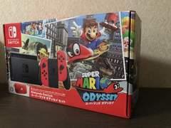 ニンテンドースイッチ 本体 スーパーマリオオデッセイセット 新品即決 Nintendo Swith