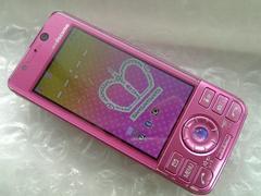 *P-02A/P02A* ピンク☆ 電池新品