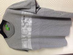 ヒューゴボス デカロゴプリント半袖TシャツXL美品