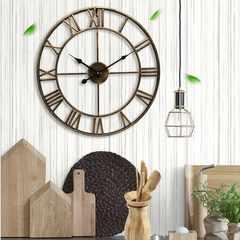 アイアンフレーム 壁掛け時計 新品未使用