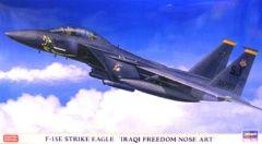 ハセガワ 1/72 F-15E ストライクイーグル イラキ フリーダム