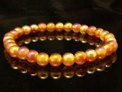 ゴールデンフラッシュカーネリアン§6ミリ数珠