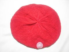 wn88 ROXY ロキシー ニットベレー帽 ビーニー レッド