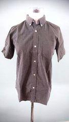 BEAMS ビームス ドット半袖シャツ F 美スタイル ブラック 重ね着