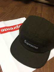 新品未使用Supreme Featherweight Wool Camp Cap