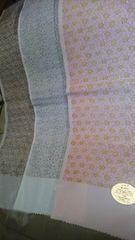 新品、シルク100%半衿3枚セット、タイプA�A