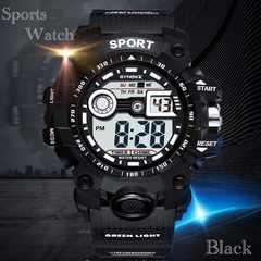 腕時計 スポーツ時計 デジタル時計 ミリタリー 耐久性 スポーツ