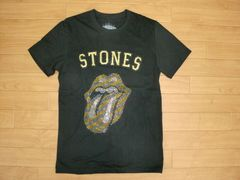 ローリングストーンズ ラインストーン Tシャツ Sサイズ