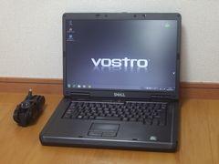 【Windows7/15.4ワイド】DELL VOSTRO1000 無線LAN メモリ2GB