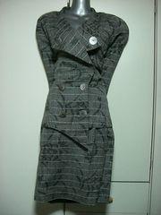 ●イタリア製●麻素材模様糸入り高級スーツ42号新品同様★