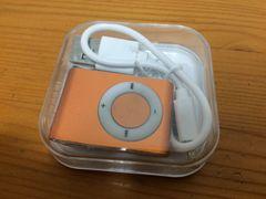 新品未使用MP3プレーヤーオレンジ