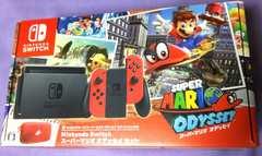 新品未開封Nintendo Switchスーパーマリオ オデッセイセット本体任天堂スイッチ