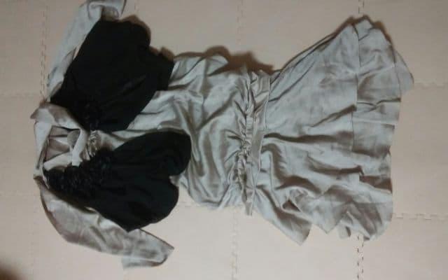フォーマル 黒のボレロとツーピース 超美品  < 女性ファッションの