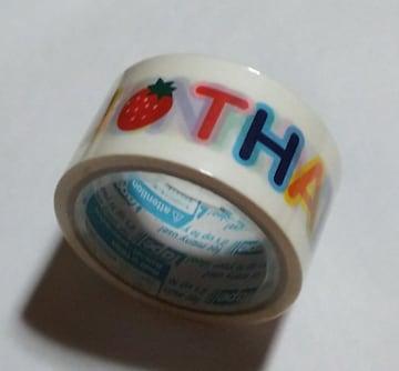★THANK YOU☆太パッキングテープ★未使用