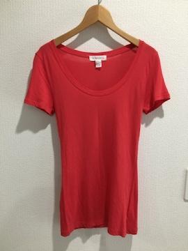 フォーエバー21 半袖 tシャツ トップス レディース レッド 赤