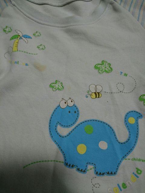 長袖パジャマ。恐竜。100センチ < キッズ/ベビーの