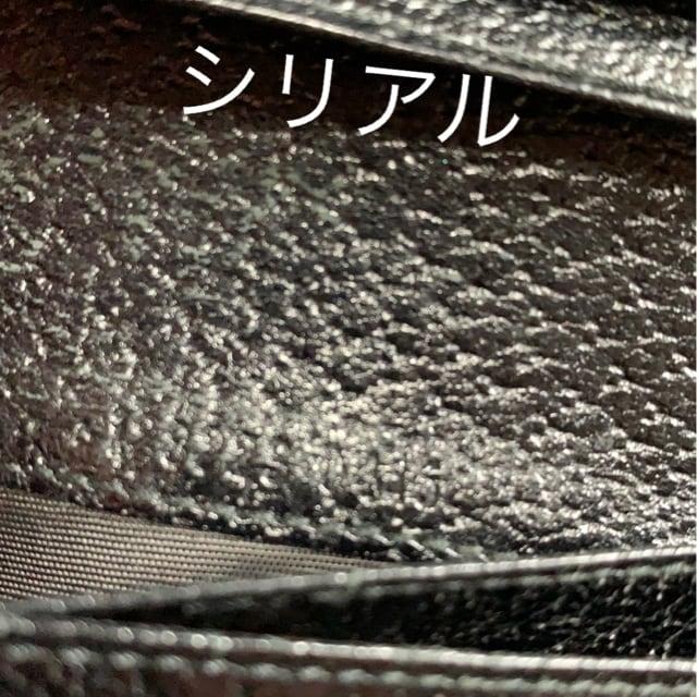 正規品GUCCIブラックGG柄☆ダブルホック長財布☆