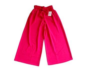 新品 GRL グレイル ピンク ガウチョパンツ  ワイドパンツ