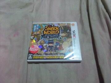 【新品3DS】スナックワールド トレジャラーズ