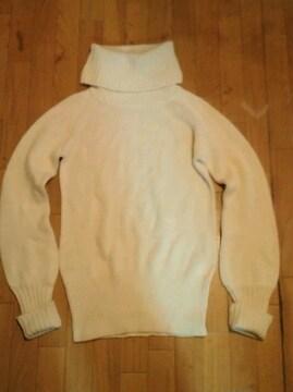 moussy(マウジー) タートルニットセーター