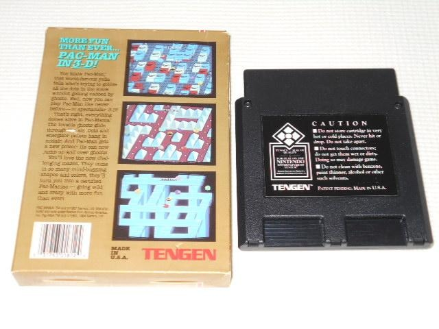 FC★PAC-MANIA NES 海外版(国内本体動作不可) < ゲーム本体/ソフトの