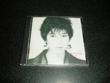 CD「刀根麻理子/PURPLE ROSE」パープルローズ 85年盤