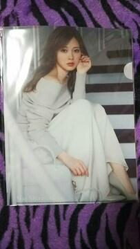 未開封☆白石麻衣☆クリアファイル☆