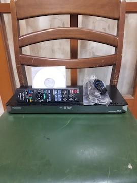 新品同様完動美品!W録1TB外付HDDスマホ!パナDMR-BRW1000