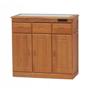 キッチンカウンター(ナチュラル) MUD-7423SNA