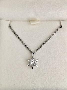ダイヤモンド ネックレス Pt850 0.668ct 5.0g