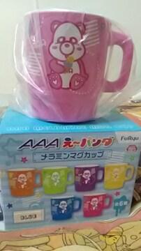 AAA・え〜パンダ・メラニン マグカップ・桃 末吉