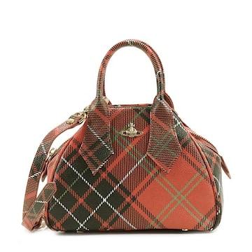 ◆新品本物◆ヴィヴィアンウエストウッド DERBY ハンドバック(RED)『42010014』