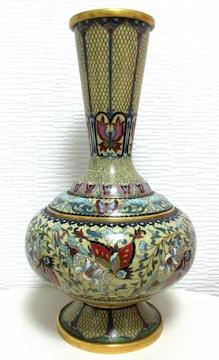 七宝花文花瓶