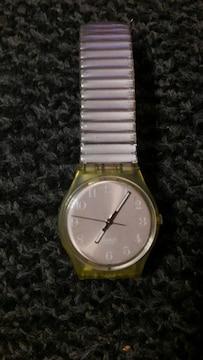 swatch スウォッチ 腕時計 日常生活防水 電池切れ