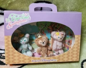 TDS☆ダッフィー&フレンズ【ファスナーマスコット】ケープコッド★スプリングタイム