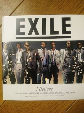 EXILE  I Believe  CD+DVD
