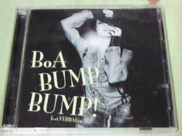 CD+DVD BoA BUMP BUMP!featVERBAL(m-flo)