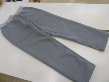 送料込(XL薄灰)チャンピオン ロングパンツC3JS216ジャージ軽量裾ゴム保温伸縮