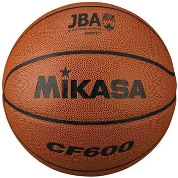 色茶 サイズ6号 ミカサバスケットボール 検定球6号 人工皮革 CF6