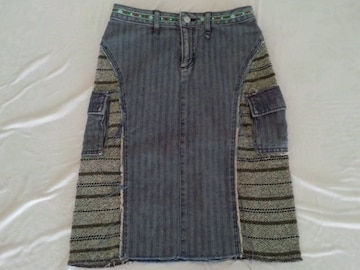 ET BOITEデニムタイトスカート