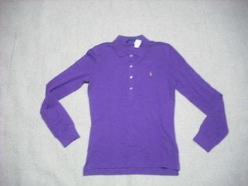 女 3 ラルフローレン 紫 ポロシャツ S