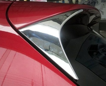 マツダ メッキ リア ウィング サイド カバー CX-5 ガーニッシュ
