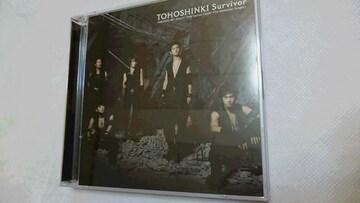 *☆東方神起☆Survivor(CD+DVD)♪
