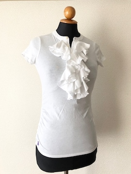 [RALPH LAUREN]★ホワイトカラー・半袖カットソー・size[140]★